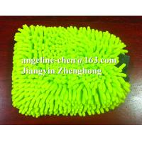 Buy cheap microfiber chenille car cleaning, house cleaning gloves mitts from wholesalers