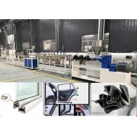 Buy cheap TPU PVC Rubber Flexible Sealing Strip Extrusion Making Machine For Door And Window from wholesalers