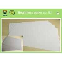 Buy cheap Mixed Pulp Duplex Paper Board White Back For Printing Bag Anti Curl from wholesalers