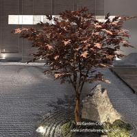 Quality UV Protection Artificial Maple Tree Made Of Epoxy Resin , Fiberglass Durable for sale