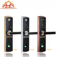 Buy cheap Bluetooth Fingerprint Door Lock Remote Control with IC Card Function from wholesalers