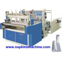 Buy cheap High Capacity 2 Layer Toilet Paper Making Machine , Roll Slitting And Rewinding Machine from wholesalers