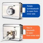 Buy cheap Digital Waterproof Bluetooth TTLOCK APP Smart Rim Night Latch Locks from wholesalers