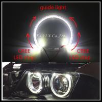 Buy cheap CREE 2 SMD LED angel eyes for BMW E38 E39 E36 E46 LED headlight halo ring for BMW LED angel eyes 4x131mm from wholesalers