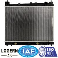 Buy cheap 350*478*16mm Core TOYOTA Car Radiator For Echo / Vitz'00-05 Mt Dpi 2304 from wholesalers