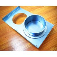 Buy cheap Industrial Dust Collection Manual Sliding Ac Ducts And Dampers Durable Galvanized Steel from wholesalers