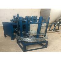 Buy cheap 9 Strips Concertina Razor Barbed Wire Machine For Making Security Fence from wholesalers