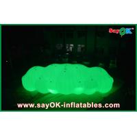 Buy cheap 12m Long Giant Inflatable Balloon LED Helium Cloud With With 0.2mm PVC For Event from wholesalers