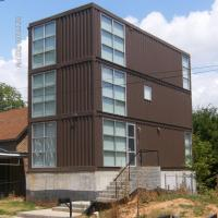 Buy cheap 3 Layers Hotel Type Prefab Shipping Container Homes With Sun Glass Window from wholesalers
