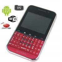 Buy cheap cheapest android gps wifi tv gsm mobile phone F605 with qwerty keyboard from wholesalers