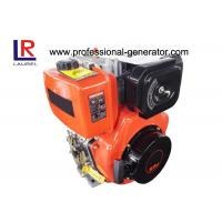 Buy cheap Air - Cooled Industrial Diesel Engines , Manual Start High Performance Diesel Engines from wholesalers