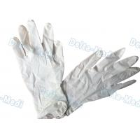 Buy cheap Natural Rubber Disposable Surgical Gloves Latex Examination 18g - 24g from wholesalers