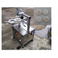 Semi auto pleat wrapping machine with labeling function for packing hotel round soap Manufactures