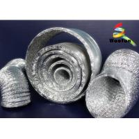 China Insulated 3 Inch Flexible Exhaust Duct Air Conditioning Ventilation Type on sale