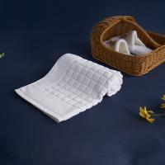 Buy cheap White Hotel Bath Mat For Hotel Custom Logo Size Jacquard Rectangular Home from wholesalers