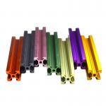 Buy cheap Colorful Black Anodizing 20x40 2040 V Slot Aluminium Profile from wholesalers