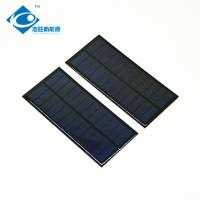 Buy cheap ZW-16675 Customized Epoxy Resin Solar Panel for solar battery charger 1.6W 6V from wholesalers