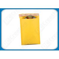 Buy cheap Eco Mailing Bubble Envelopes Brown Kraft Bubble Mailer Envelopes 9 × 12 Envelope from wholesalers