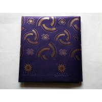 Buy cheap Dark Purple African Sego Headtie , 100% Polyester Yarn And Metallic Thread from wholesalers