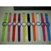Buy cheap Waterproof Silicon Geneva Watch from wholesalers