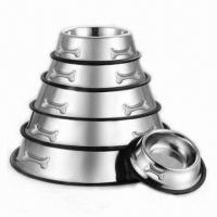 Buy cheap Stainless Steel Pet Dog Bowls Feeders product