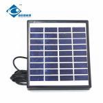 Buy cheap 9V 1.5W high quality new standard solar panel ZW-1.5W-9V Mini Glass Laminated Solar Panels from wholesalers