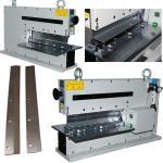 Pneumatic PCB Depanel Machine Air Driving Linear Blade Depanelizer Manufactures