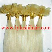 Buy cheap Pre bonded human hair extension, nail hair from wholesalers