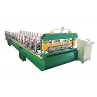 Buy cheap Memorial Gate Frame Roofing Sheet Roll Forming Machine With Hydraulic Power from wholesalers