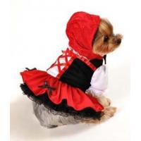 Buy cheap Manufacture PET Costume Little Red Riding Hood Dog Costume from wholesalers