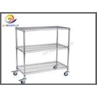 Buy cheap ESD SMT Reel Storage Trolley Anti Static Products ESD Rolling Industrial Metal Utility Cart from wholesalers