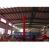 Buy cheap Event Party Inflatable Advertising Signs Blow Up Air Dancers Digital Printing 6m H from wholesalers