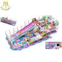 Buy cheap Hansel wooden play house jungle gym machine kids playground equipment indoor from wholesalers