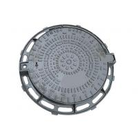 Wholesale Road / Hard Shoulders Ductile Iron Manhole Cover , E600 D400 Manhole Cover from china suppliers