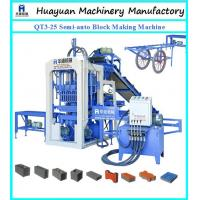 Buy cheap Semi automatick brick making machine QT3-25 Small scale industries machines from wholesalers