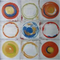 Buy cheap Pattern Geometry Acrylic Abstract Modern Paintings On Canvas , 100 Hand Painted product
