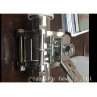 Buy cheap ASME BPE Sanitary Stainless Steel Butterfly Valves Tri Clamp With ISO9001 Standard from wholesalers