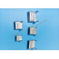 Buy cheap 201 L Type Buckles Metal Stamping Part , Stamped Steel Parts For Banding from wholesalers