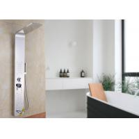 Buy cheap ROVATE 4 Way Water Outlet Wall Mount Shower Panel Home Furniture L Shape from wholesalers