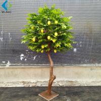 Wholesale 1.2m Height Artificial Lemon Tree , Fake Fruit Tree Anti Ultra Violet from china suppliers