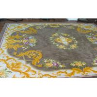 Buy cheap Comfortable Handmade Woollen Carpet / Chinese Hand Knotted Wool Rugs from wholesalers