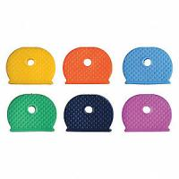 Buy cheap Identifier Medium Plastic Key Holder Assorted PK20 Key Caps Silica Rubber Covers Tags from wholesalers