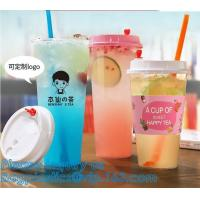Buy cheap PLA plastic cup PET plastic cup PP plastic cup PS top snack cup Straw,Food takeout plastic box Salad plastic bowl Pulp f from wholesalers