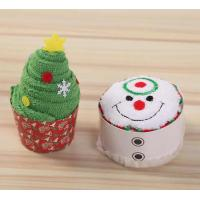 Buy cheap Creative 2018 Christmas gifts cupcake souvenir cake gift towel Wholesale branded marketing products Micro fiber&cotton from wholesalers