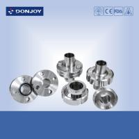 Buy cheap Hygienic Aseptic Flange Set Stainless Steel Sanitary Fittings DN11864  Sanitary Thread union from wholesalers
