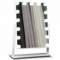 Buy cheap Premium Led MakeUp Mirror Metal Frame For Salon , Hollywood Led Mirror from wholesalers