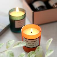 Buy cheap Christmas Luxury Packaging Home Scented Candles Colorful Glass Candle Jar from wholesalers