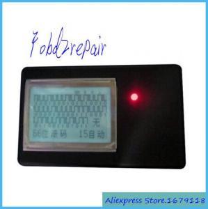 China Fobd2repair 315mhz 433mhz radio remote control decoder remote car key detector garage car rolling code scanner copier on sale