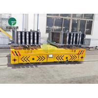 Buy cheap Industrial Motorized Material Handling Battery Driven Transfer Cart Transport Carriage With Battery Drive from wholesalers