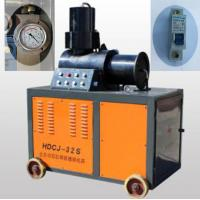 Cold Forging Rebar Coupler Threading Machine Two Cylinder For Splicing